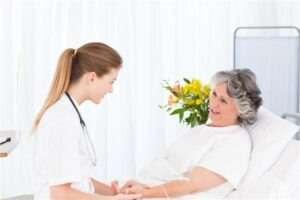 עזרה סיעודית בבית החולים