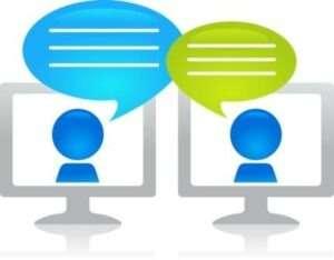 Internet chatting